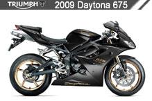 2009 Triumph Daytona 675 accessoires