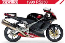 1998 Aprilia RS250 accessoires
