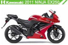 2011 Kawasaki Ninja EX250 accessoires