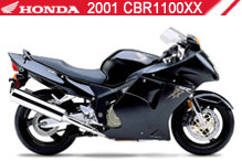2001 Honda CBR1100XX accessoires