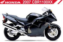 2007 Honda CBR1100XX accessoires