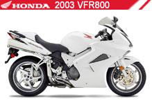 2003 Honda VFR800 accessoires