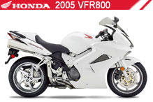 2005 Honda VFR800 accessoires