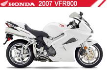 2007 Honda VFR800 accessoires
