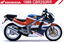 1989 Honda CBR250RR accessoires