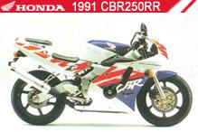 1991 Honda CBR250RR accessoires
