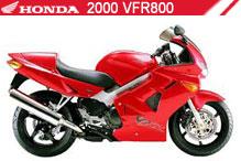 2000 Honda VFR800 accessoires