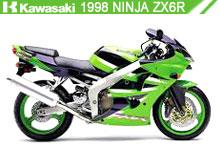 1998 Kawasaki Ninja ZX-6R accessoires