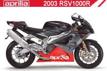 2003 Aprilia RSV 1000 R accessoires