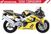 2000 Honda 929 accessoires