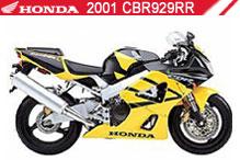 2001 Honda CBR929RR accessoires