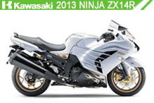 2013 Kawasaki Ninja ZX-14R accessoires