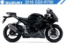 2016 Suzuki GSXR750 accessoires