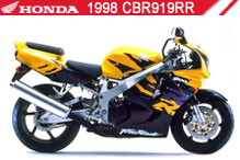 1998 Honda CBR919RR accessoires