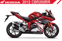 2012 Honda CBR250RR accessoires
