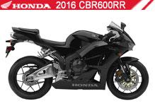 2016 Honda CBR600RR accessoires