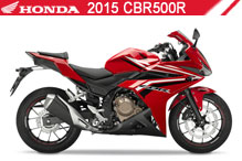 2015 Honda CBR500R accessoires