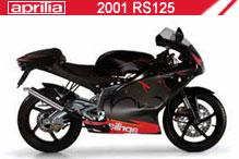2001 Aprilia RS125 accessoires