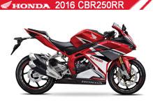 2016 Honda 250RR accessoires