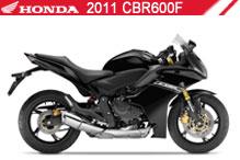 2011 Honda CBR600F accessoires