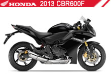 2013 Honda CBR600F accessoires