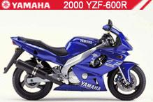 2000 Yamaha YZF600R accessoires