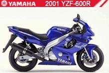 2001 Yamaha YZF600R accessoires