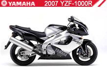 2007 Yamaha YZF1000R accessoires