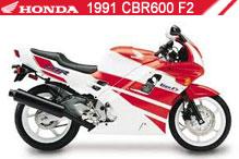 1991 Honda CBR600F2 accessoires