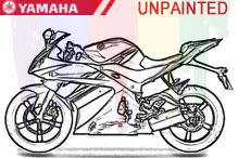 Yamaha Carénages Non peint