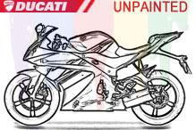 Ducati Carénages Non peint