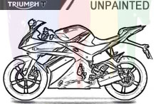 Triumph Carénages Non peint