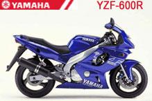 YZF600R Carénages